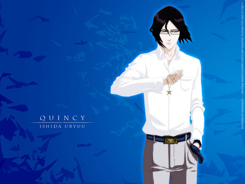 Uryu Ishida wallpaper entitled Quincy Ishida Uryuu