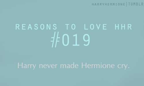 Reasons to amor Harmony