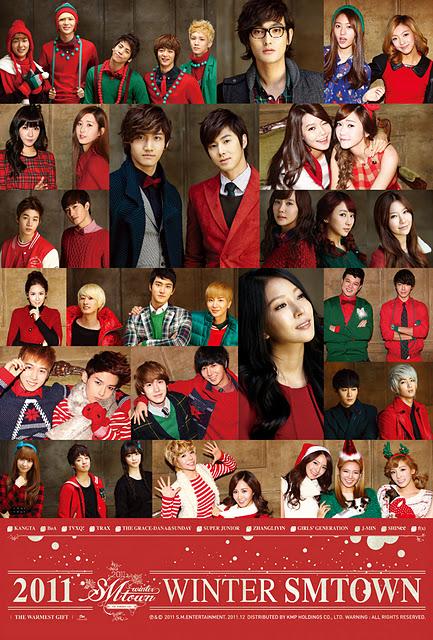 "SM Entertainment Winter Album ""The Warmest Gift"""