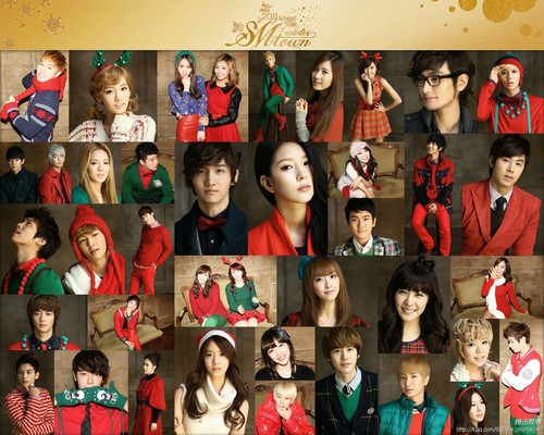 "SM Entertainment Winter Album ""The Warmest Gift"""