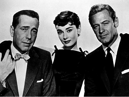 Sabrina, Linus and David