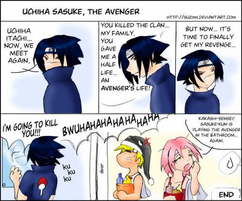 Sasuke's Doing It Again