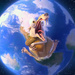 Scrat and the earth - ice-age-4-continental-drift icon