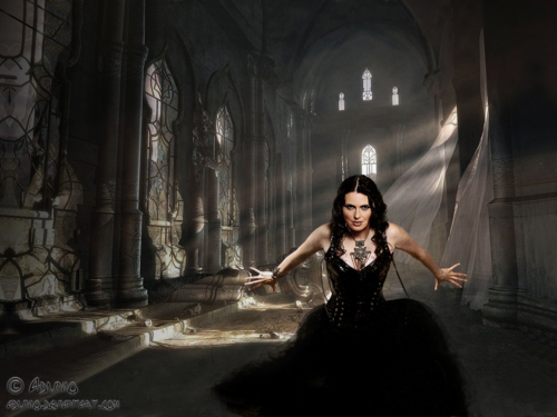 Sharon  Within Temptation - gothic Wallpaper