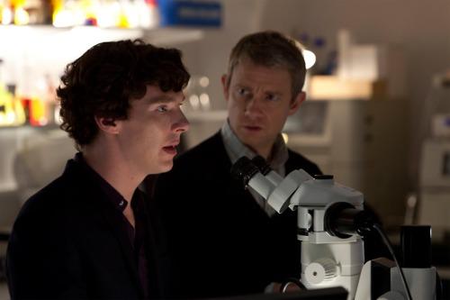 Sherlock - Promo Stills - The Reichenbach Fall