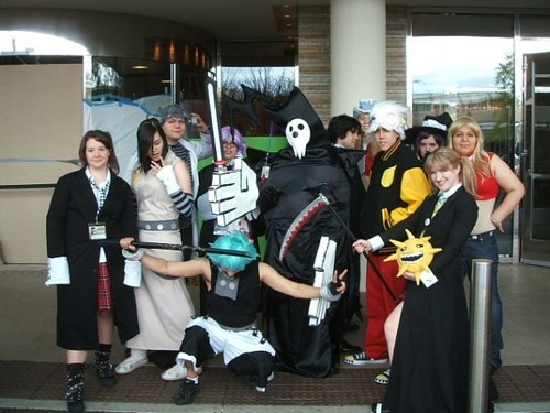 Soul Eater Group Cosplay