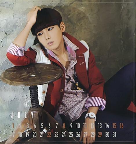 Super Junior 2012 Japan Calendar