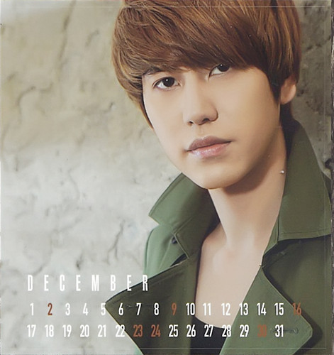 Super Junior 2012 Japan Calendarأ