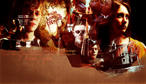 American Horror Story wallpaper entitled Tate & Violet