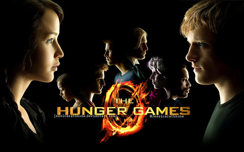Hunger Games fond d'écran titled The Hunger Games