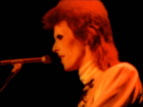 Ziggy Stardust 壁紙 containing a コンサート and a guitarist entitled The Motion Picture