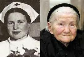 The Real Irena Sendler young and old.