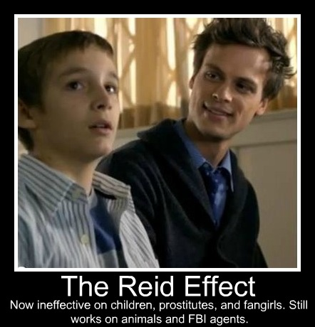 Dr. Spencer Reid wallpaper containing a portrait called The Reid Effect