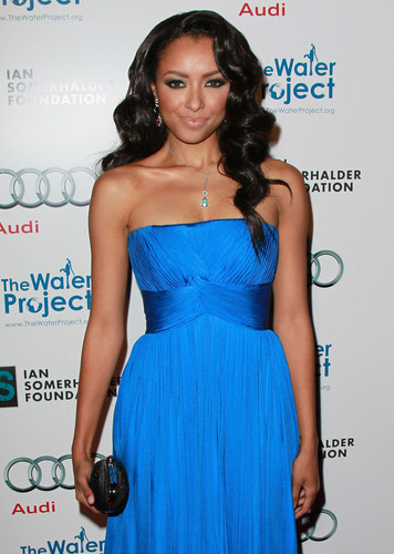 Katerina Graham wallpaper with a dinner dress, a gown, and a strapless titled The Ripple Effect Charity Dinner HQ