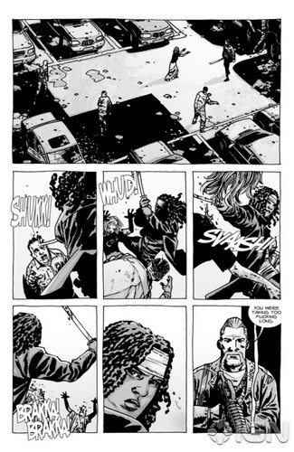 The Walking Dead - Comic #92 - cuplikan