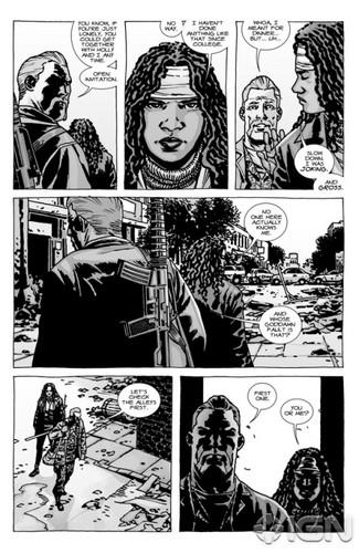 The Walking Dead - Comic #92 - منظر پیش