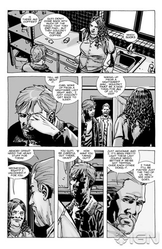 The Walking Dead - Comic #92 - منظر پیش