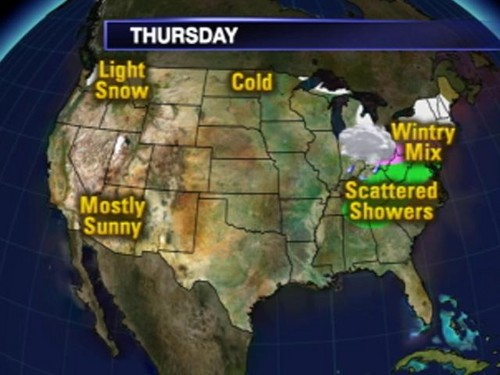 Thursday Forecast - (2008)