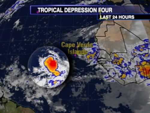 Tropical Depression Four - (2008)
