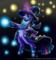Twilight the wizard - my-little-pony-friendship-is-magic-twilight-sparke fan art