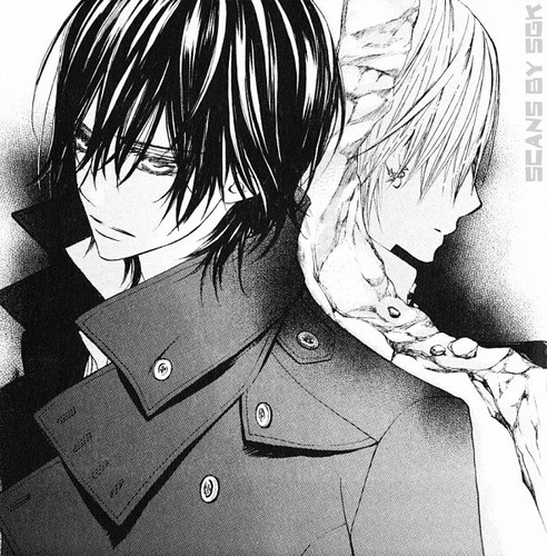 Vampire Knight Hintergrund possibly with a green baskenmütze and a trench mantel called Vampire Knight