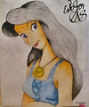 Walt Disney Fan Art - Vanessa from
