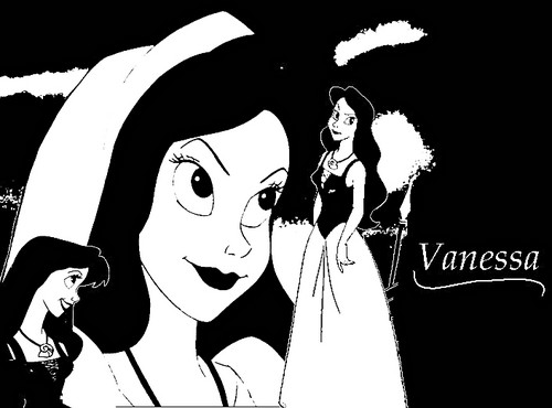 "Walt ディズニー ファン Art - Vanessa from ""The Little Mermaid"""