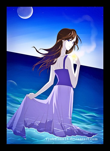 "Walt Disney peminat Art - Vanessa from ""The Little Mermaid"""