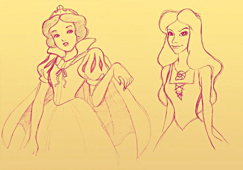 """Walt Disney Fan Art - Vanessa from """"The Little Mermaid"""""""