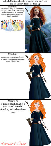 Which Merida? your vote