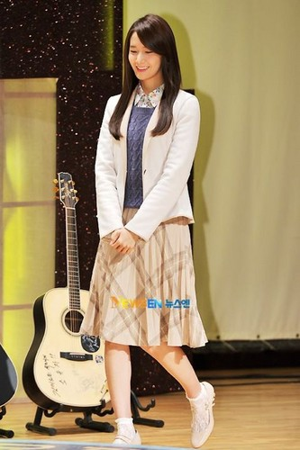 Yoona@Love Rain Press Conference