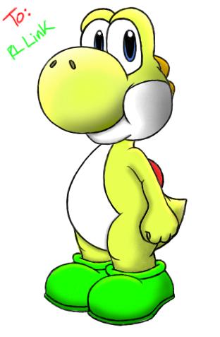 Yoshi is 愛
