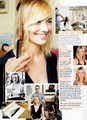 Yvonne Strahovski in the January 2012 Issue of Allure Magazine