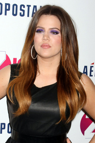 Khloe Kardashian wallpaper with a portrait titled Z100's Jingle Ball