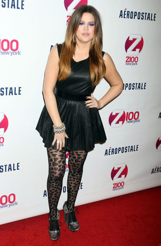 Z100&#39;s Jingle Ball  - khloe-kardashian Photo