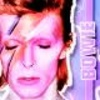 Ziggy Stardust photo with a portrait entitled Ziggy Stardust