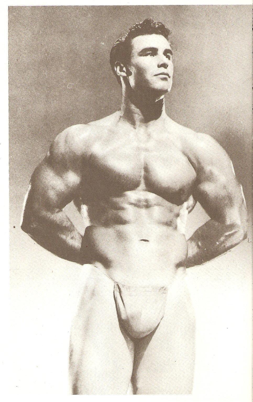 Vintage Beefcake Model