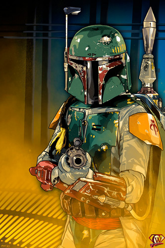 Boba Fett wallpaper entitled boba fett