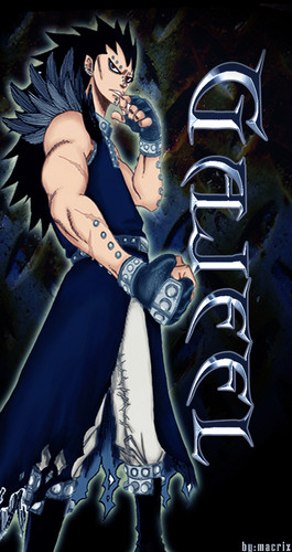FAIRY TAIL(フェアリーテイル) 壁紙 with アニメ titled gajeel >.<