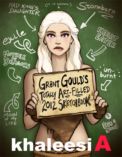 Khaleesi A - game-of-thrones Fan Art