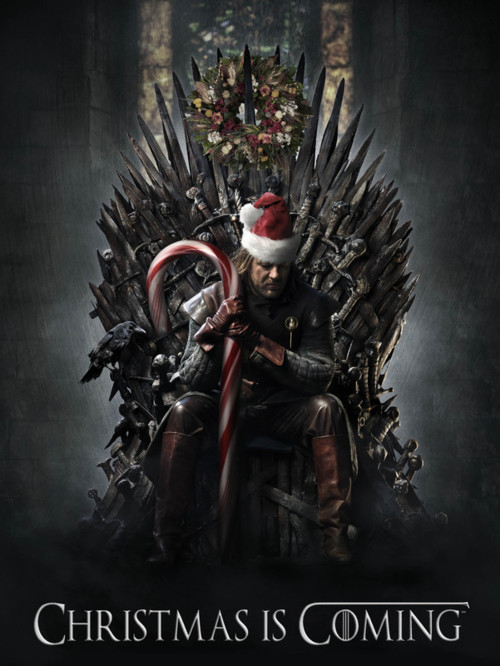 Christmas is coming game of thrones fan art 27671040 for Christmas gifts for game of thrones fans