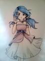 innocent girl - anime fan art