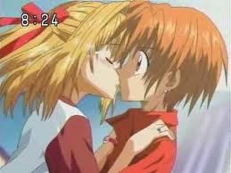 Kaito x Luchia hình nền containing anime titled kaito & luchia