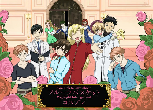 ouran high school host club wallpaper containing anime called cinta it