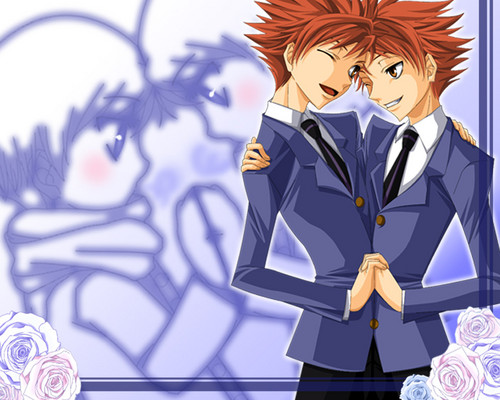 ouran high school host club wallpaper probably with anime entitled ouran