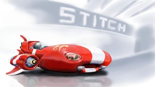 stitch spaceship