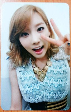 taeyeon foto card