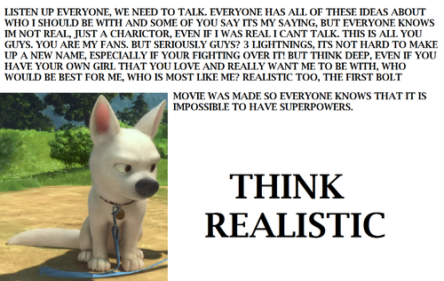 think realistic