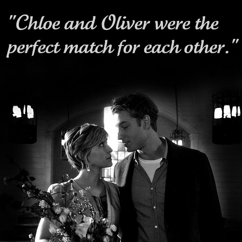 """""""Chloe and Oliver were the perfect match for each other."""""""