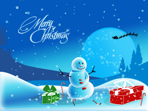 Christmas wallpaper entitled  愛 Merry Christmas